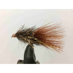 Coffee's Sparkle Minnow Brown