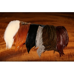 Bugger Hackle Patches