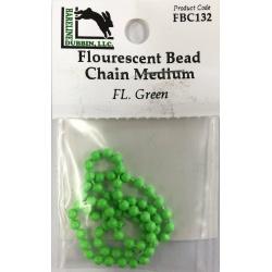 Fluorescent Bead Chain Eyes