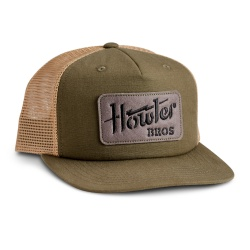 Howler Bros Structured Snapback - Electric Stencil : Fatigue/Old Gold
