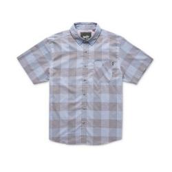 Howler Bros Airwave Shirt - Garcia Gingham : Steel Blue