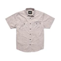Howler Bros Aransas Shirt - Shattered Glass Print : Earth