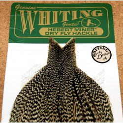 Herbert Miner Dry Fly Hackle Capes